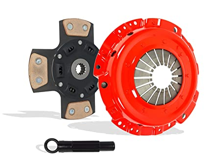 Clutch Kit And Slave Works With Pontiac Sunfire Chevy Cavalier Base LS RS SE Sedan Convertible Coupe 1995-1999 2.2L l4 GAS OHV Naturally Aspirated