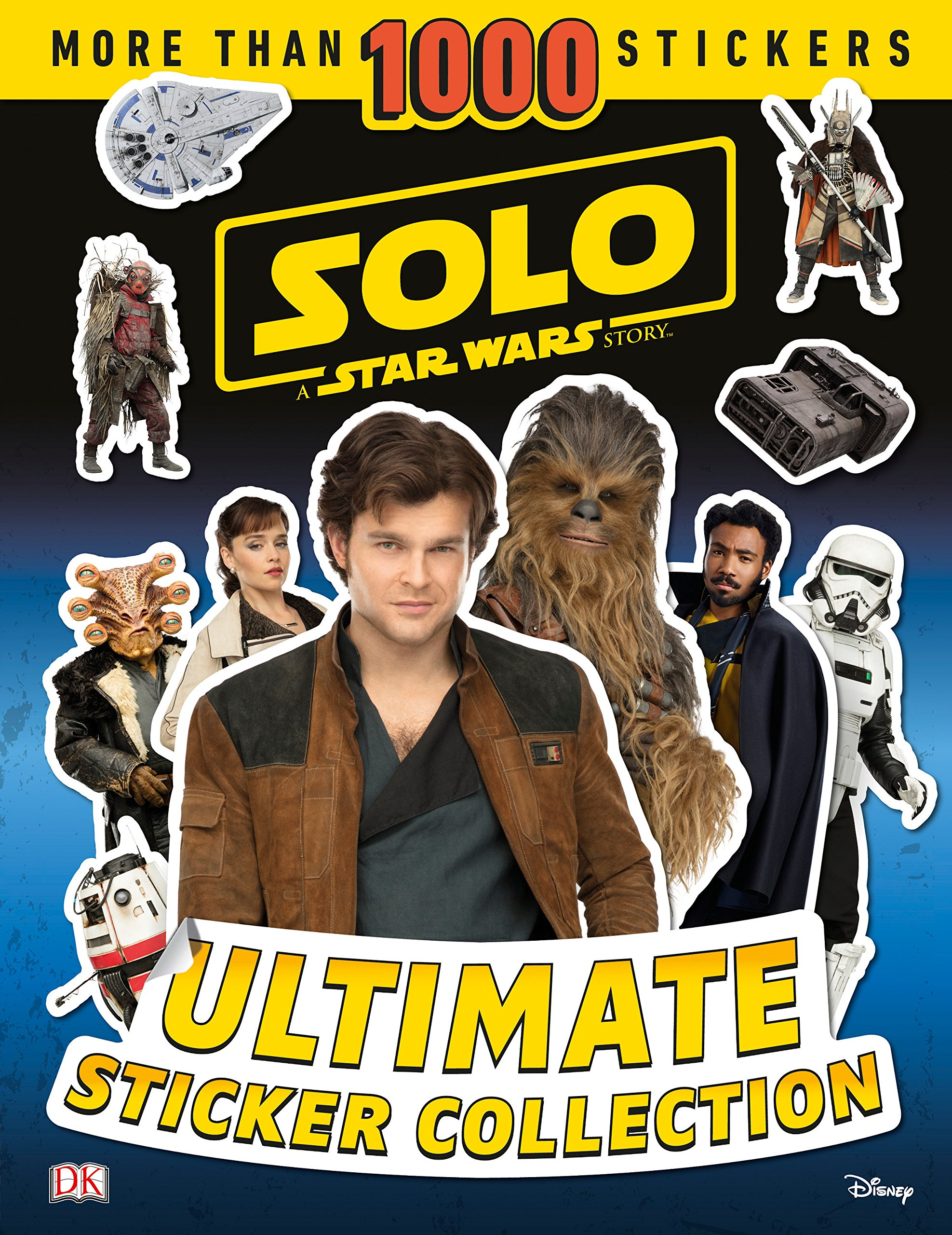 Download Solo: A Star Wars Story Ultimate Sticker Collection (Ultimate Sticker Collections) pdf