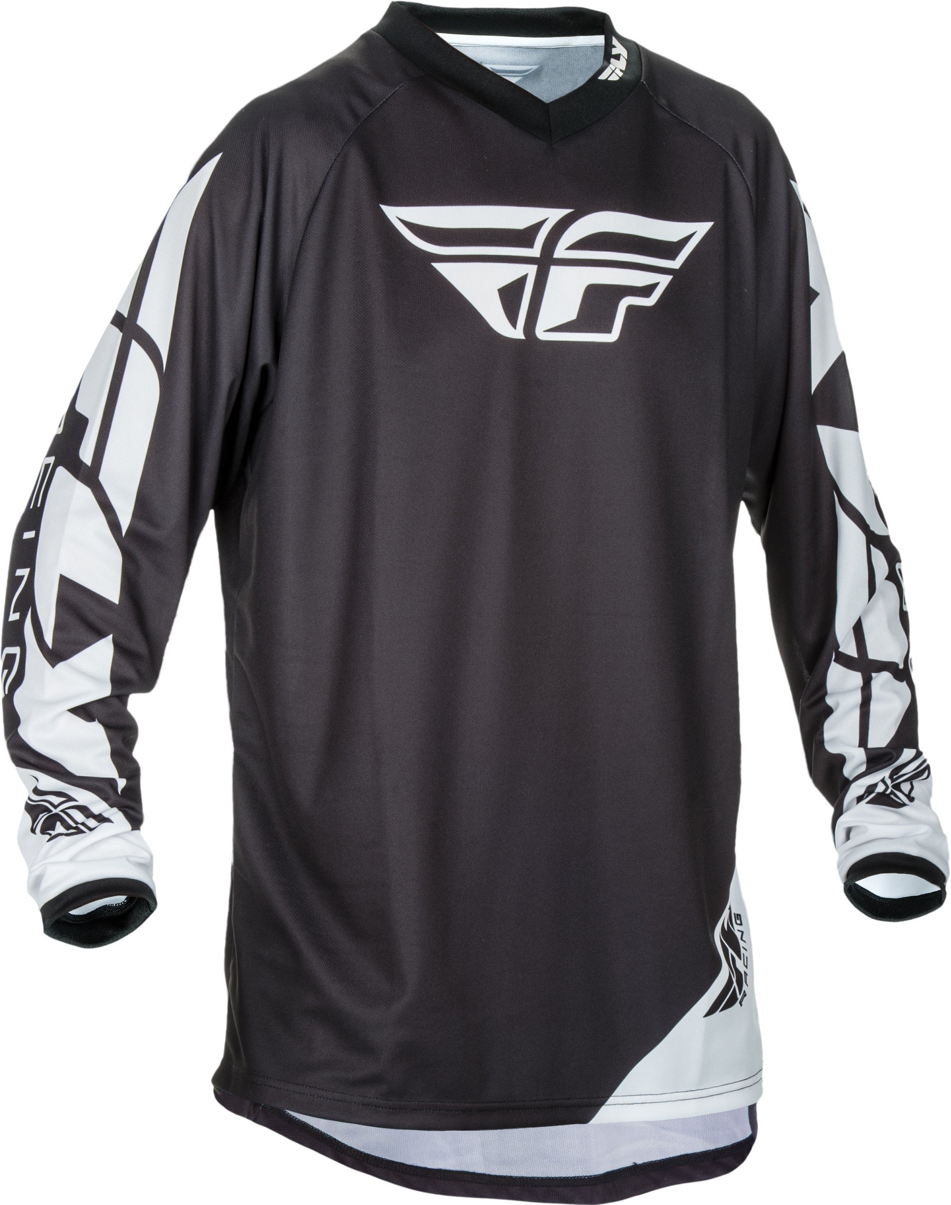Black Sz XL Fly Racing Universal Motocross Jersey by Fly Racing