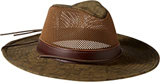 product image for Henschel Men's Hiker Crushable Mesh Breezer with Leather Band UPF 50 Hat