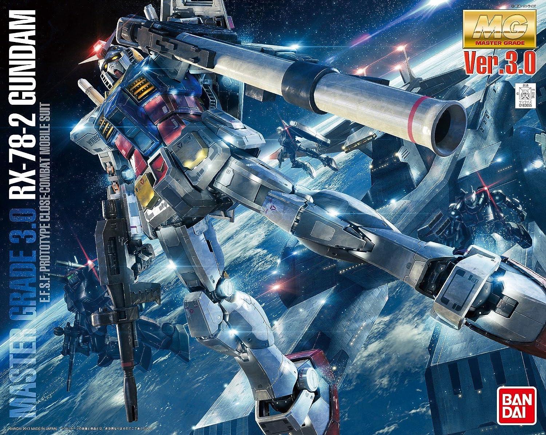 Bandai Hobby Mg Gundam Rx 78 2 Ver 30 1 100 Scale Rx78 Verka 114215 Action Figure Model Kit Toys Games