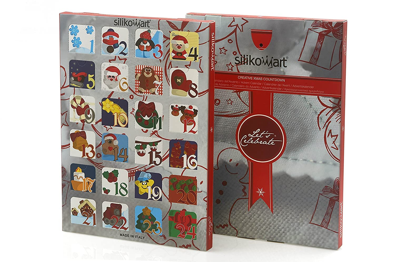 Calendar Box Juego 2 Cajas Decoradas + Estructura en plástico para 2 Calendarios de Adviento.: Amazon.es: Hogar