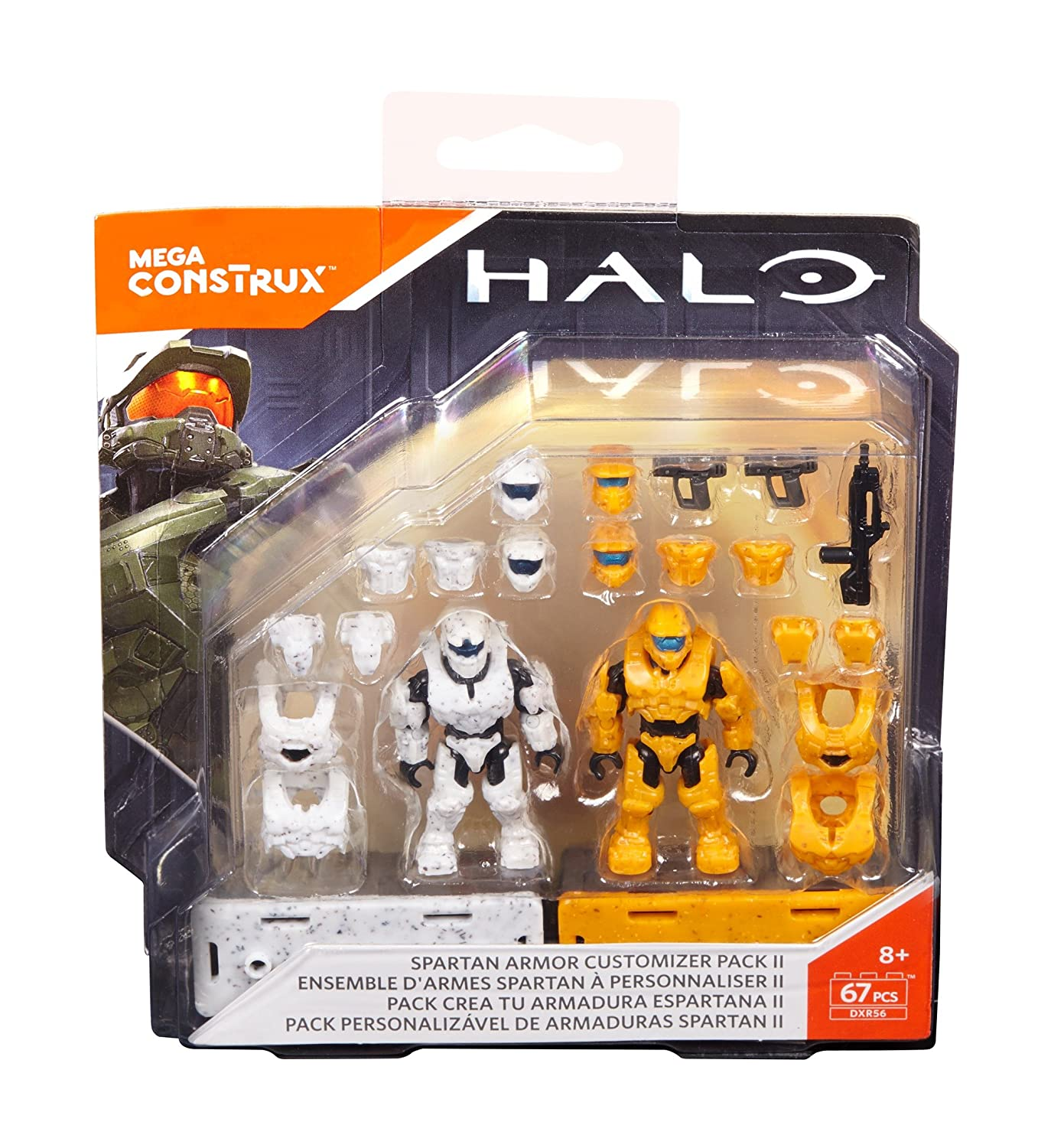 Mega Construx Halo Dxr56 Spartan Armor Customizer Pack Building