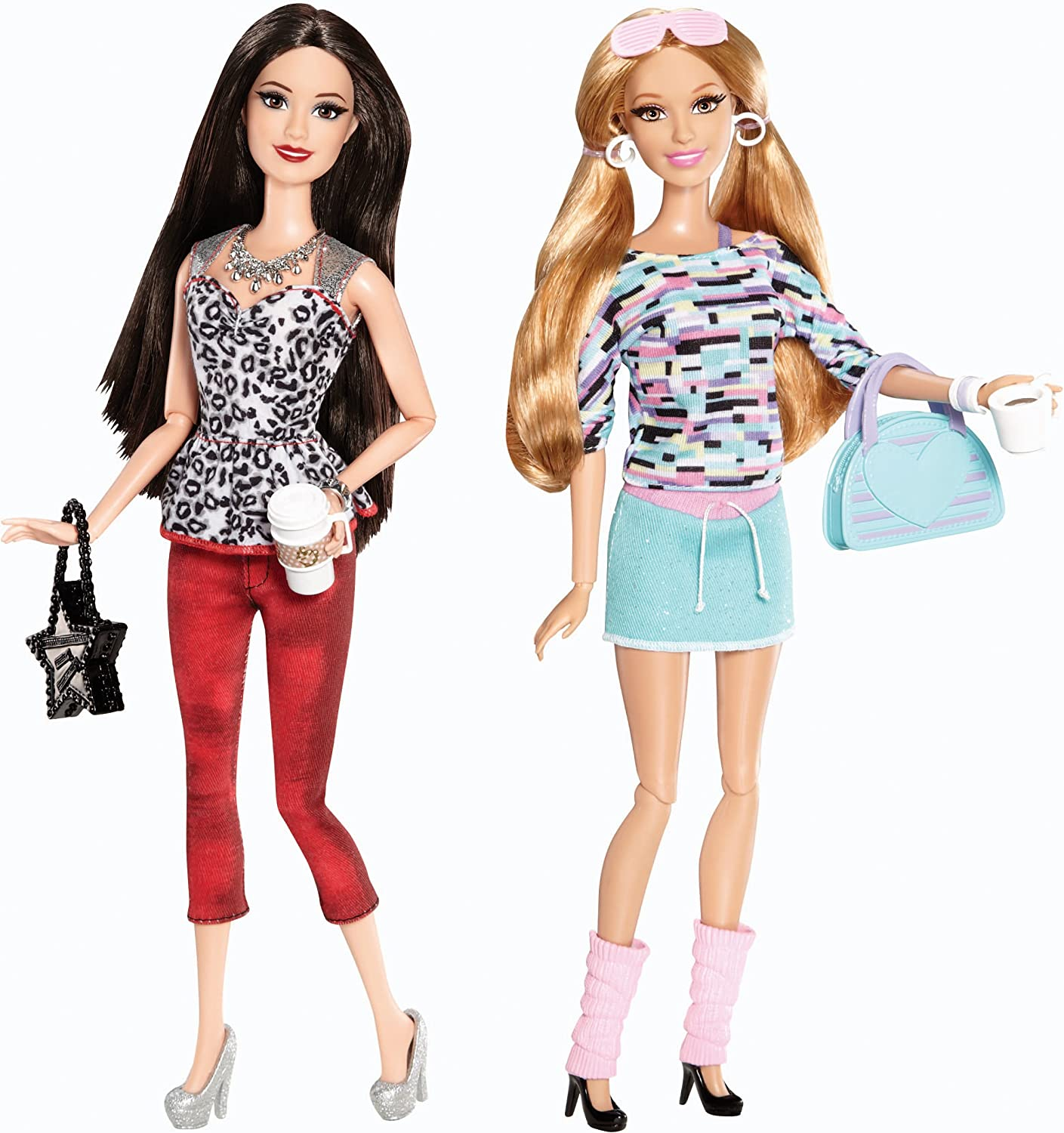 ADD ON ITEM New Barbie Life In The Dreamhouse Summer Doll White /& Pink Gym Bag