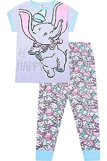 a3024a7a5c Womens Disney Dumbo Elephant Be Happy Gift Pack Pyjamas Plus Sizes ...