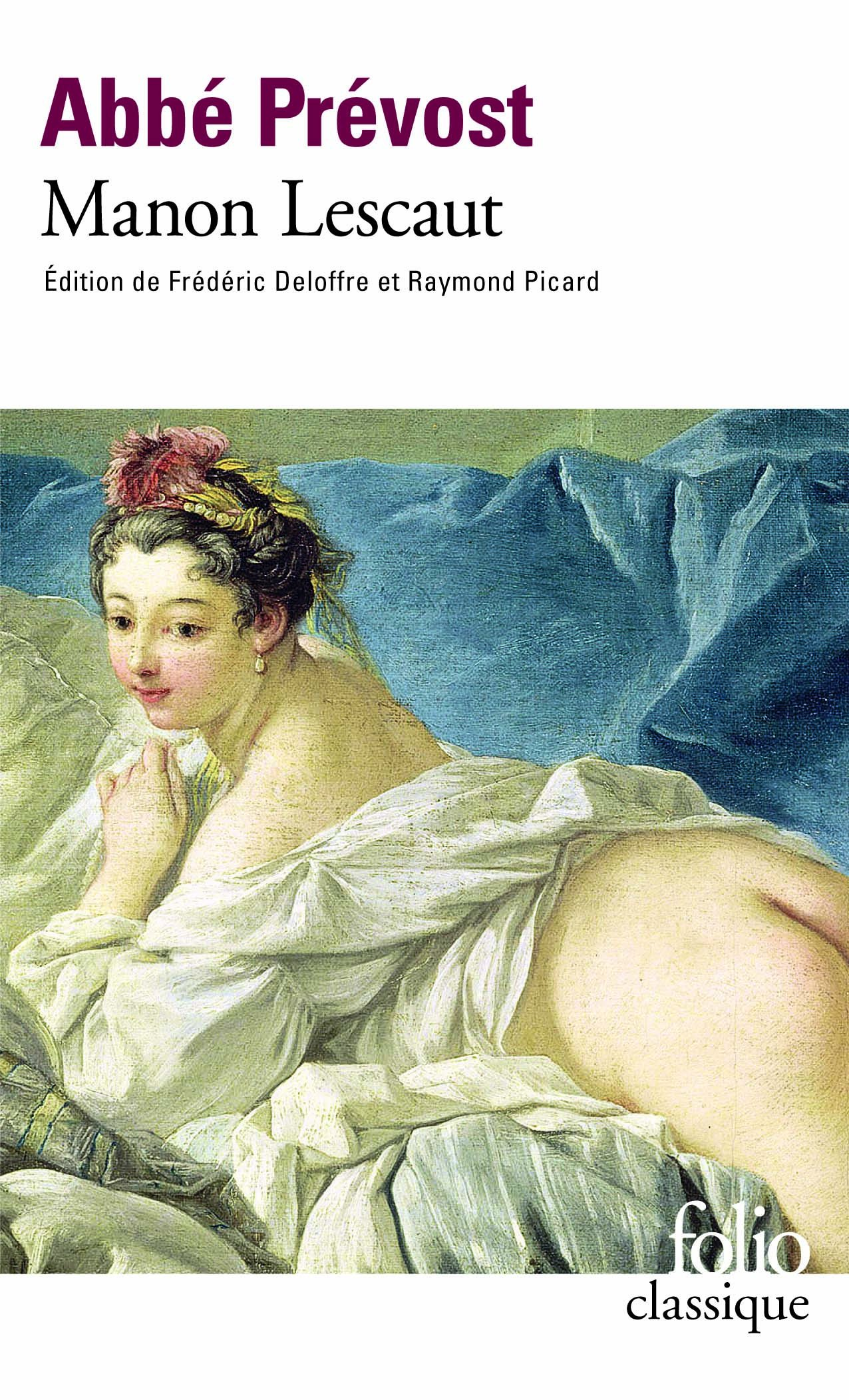 amazon fr manon lescaut abbé prévost frédéric deloffre