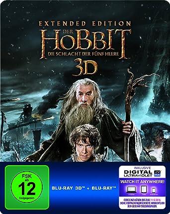 Der Hobbit Die Schlacht Der Fünf Heere Extended Edition Steelbook