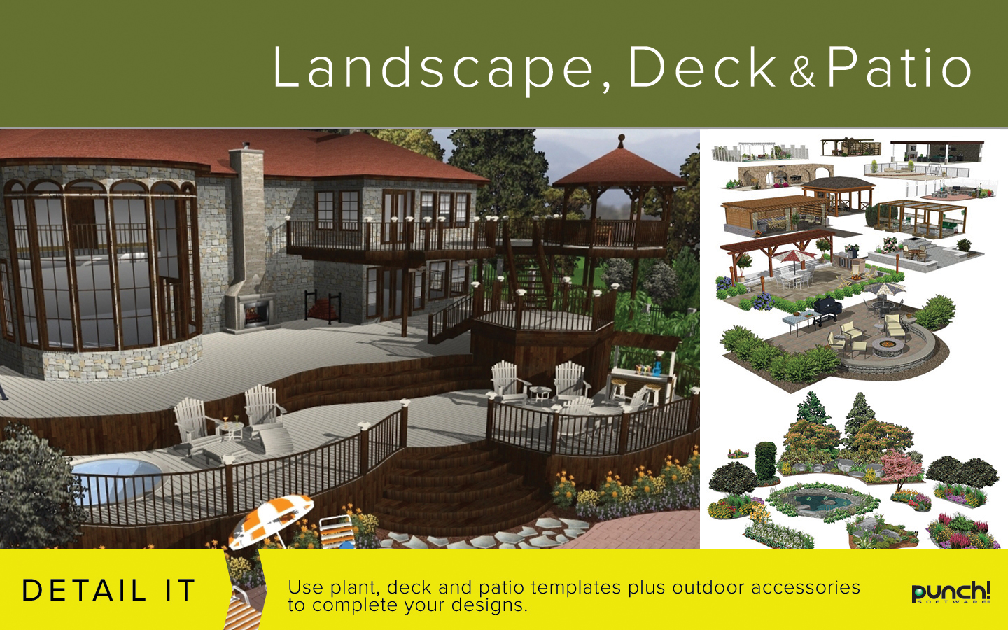 100 punch home design essentials for mac review for Punch home landscape design essentials v19 review