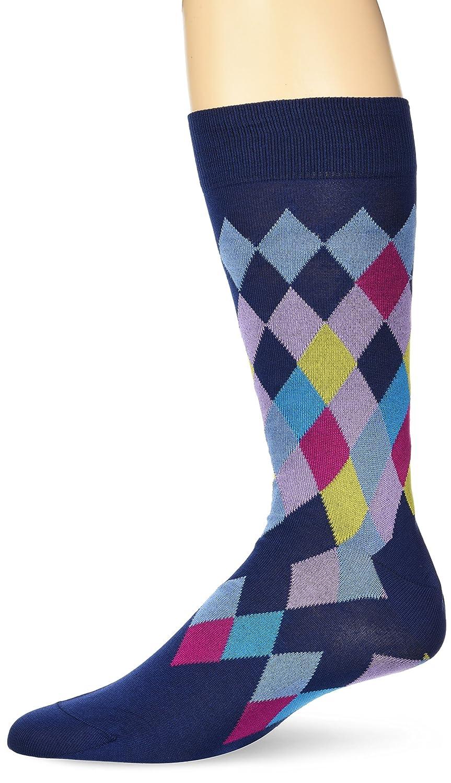 Bugatchi - Calcetines para hombre de algodón mercerizado con patrón ...