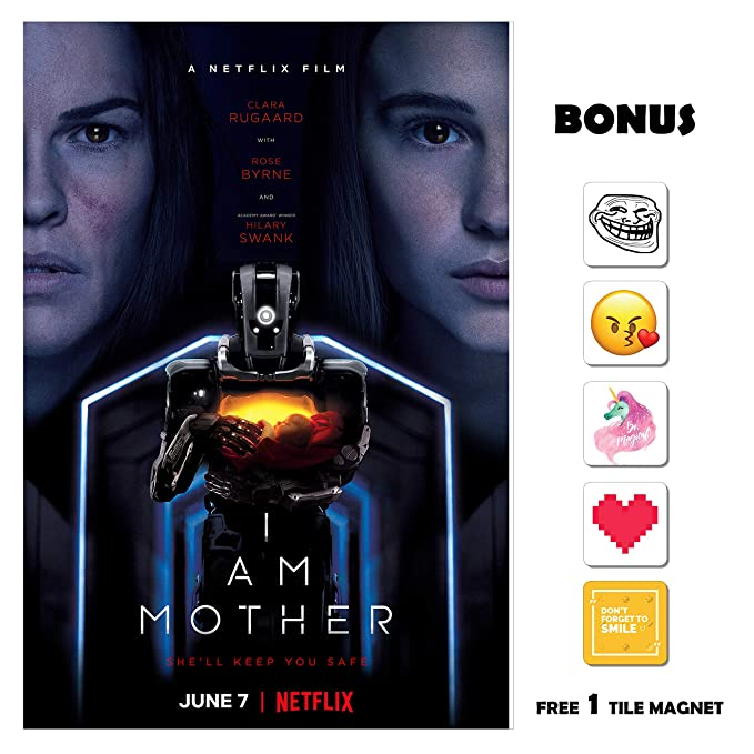 Amazon Com Movie Poster I Am Mother 13 In X 19 In Poster Flyer