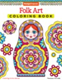 Folk Art Coloring Book (Design Originals) (Coloring Is Fun)