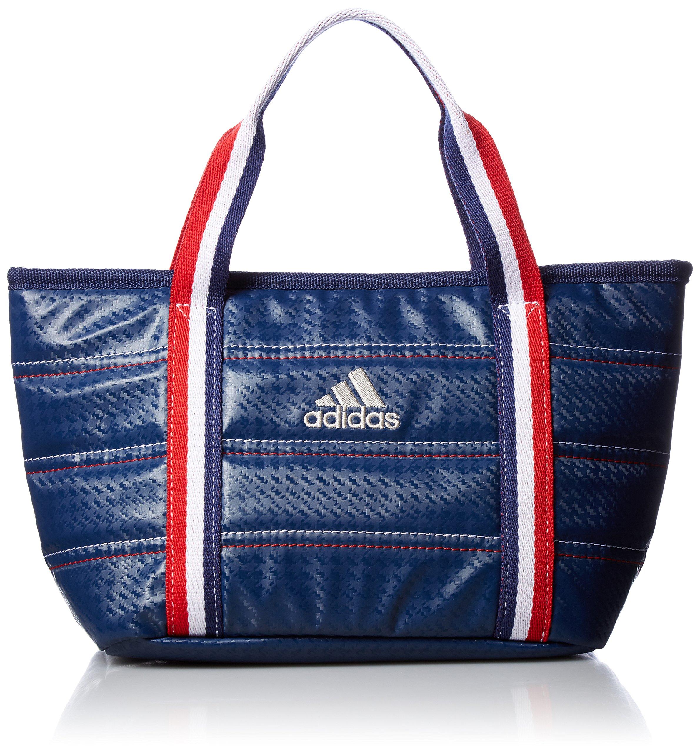 [Adidas Golf] round tote bag L23 × W18 × H13cm AWT 28 A42073 navy