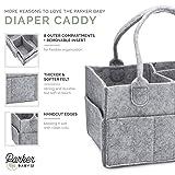 Parker Baby Diaper Caddy - Nursery Storage Bin