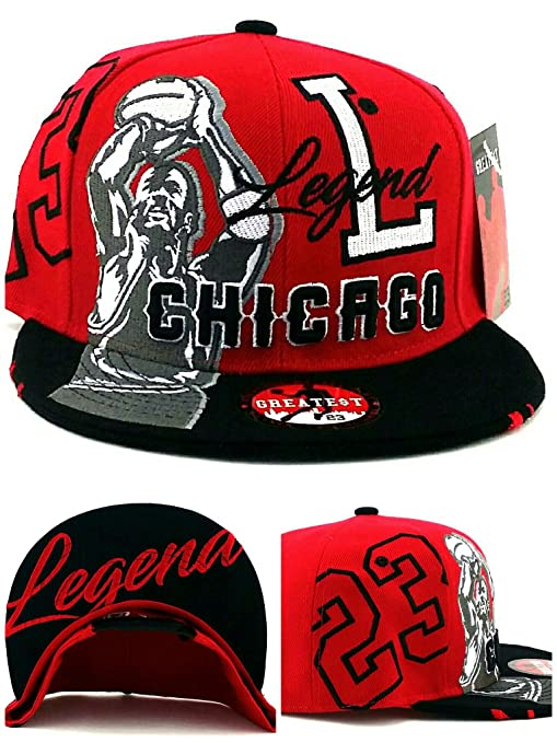 Amazon.com   Chicago New Legend Greatest 23 MJ Jordan Bulls Colors ... f1b3be3b28a