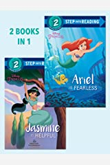 Ariel Is Fearless/Jasmine Is Helpful (Disney Princess) (Step into Reading) Kindle Edition