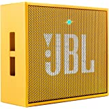 JBL Go Ultra Portable Rechargeable Bluetooth Speaker with Aux-In Compatible - Yellow