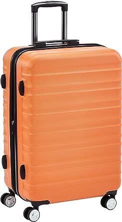 امازون بيسكس حقائب سفر بعجلات ، برتقالي