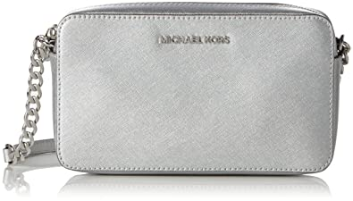 36e56c6c72 Michael Kors Crossbodies, Women's Shoulder Bag, Silber (Silver ...