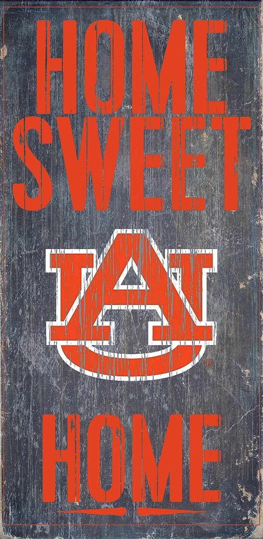 Home Sweet Home 6x12 Fan Creations Auburn Tigers Wood Sign