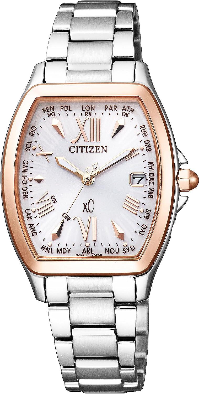 [シチズン]CITIZEN 腕時計 xC クロスシー エコドライブ電波時計 ハッピーフライトシリーズ トノーモデル EC1104-55A レディース B01ASZ7G30