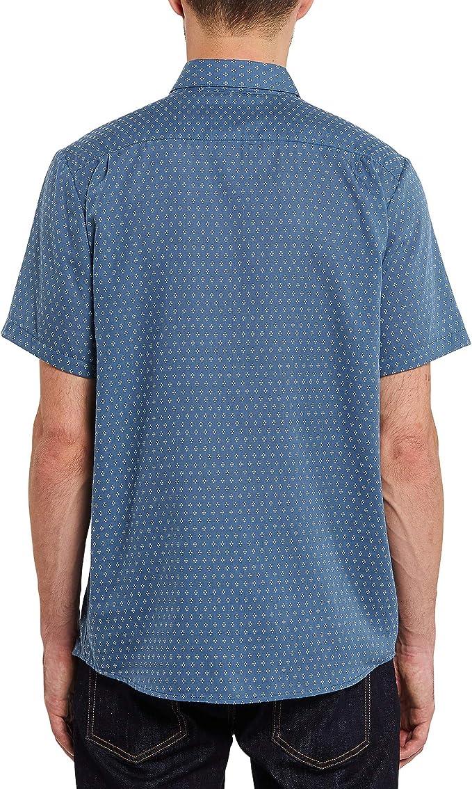 Volcom Milton - Camisa de manga corta con botones para hombre