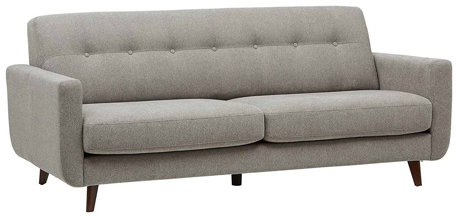 Rivet Sloane Mid-Century Modern Sofa with Tufted Back, 79.9