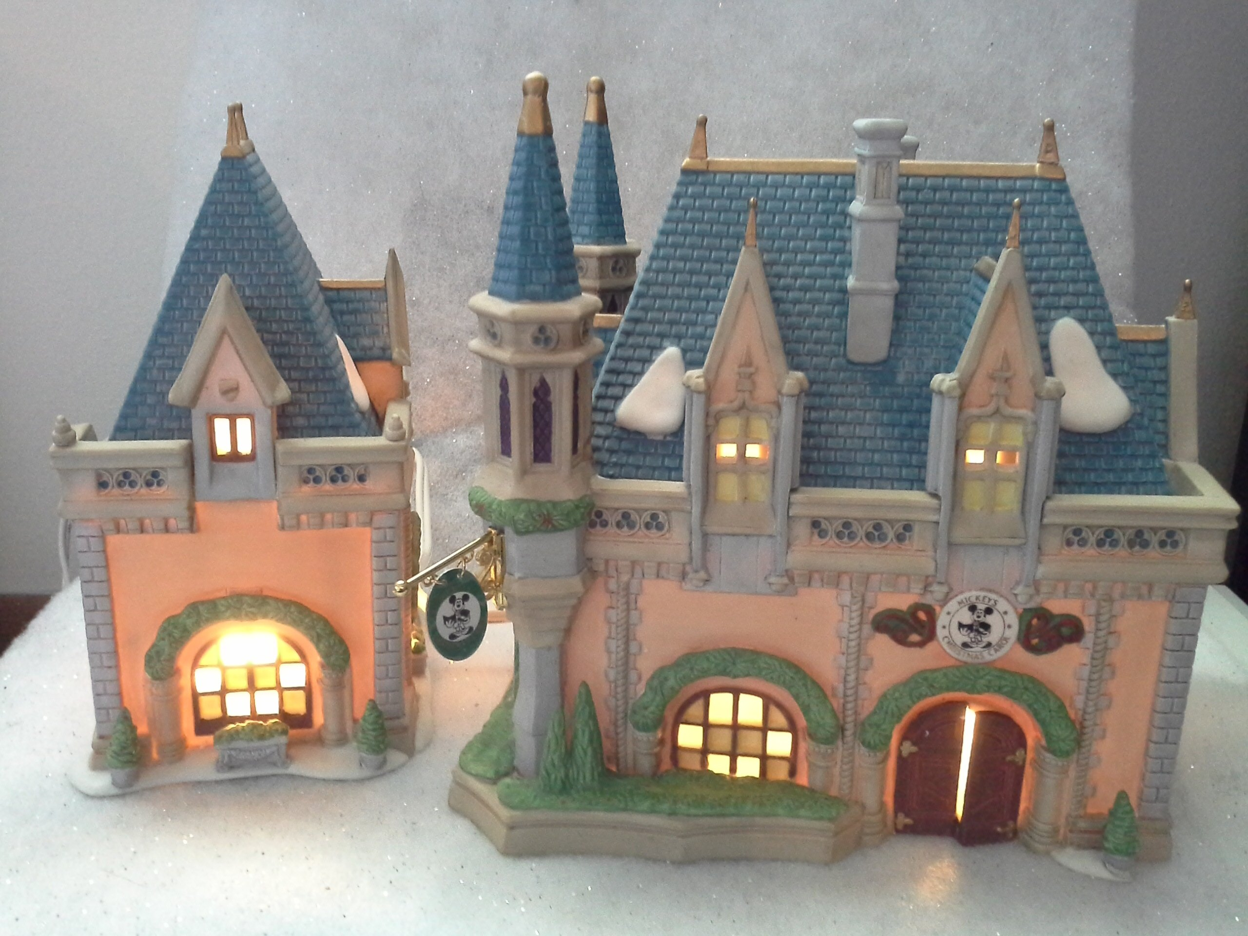 Mickeys Christmas Carol Fantasyland Village Decoration