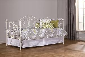 Hillsdale Furniture Hillsdale Ruby Suspension Deck, Textured White Daybed, 44.25