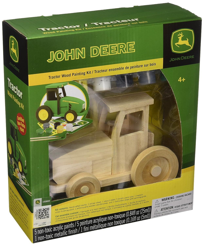 Amazon Masterpieces Wood Paint Kit John Deere Tractor Arts