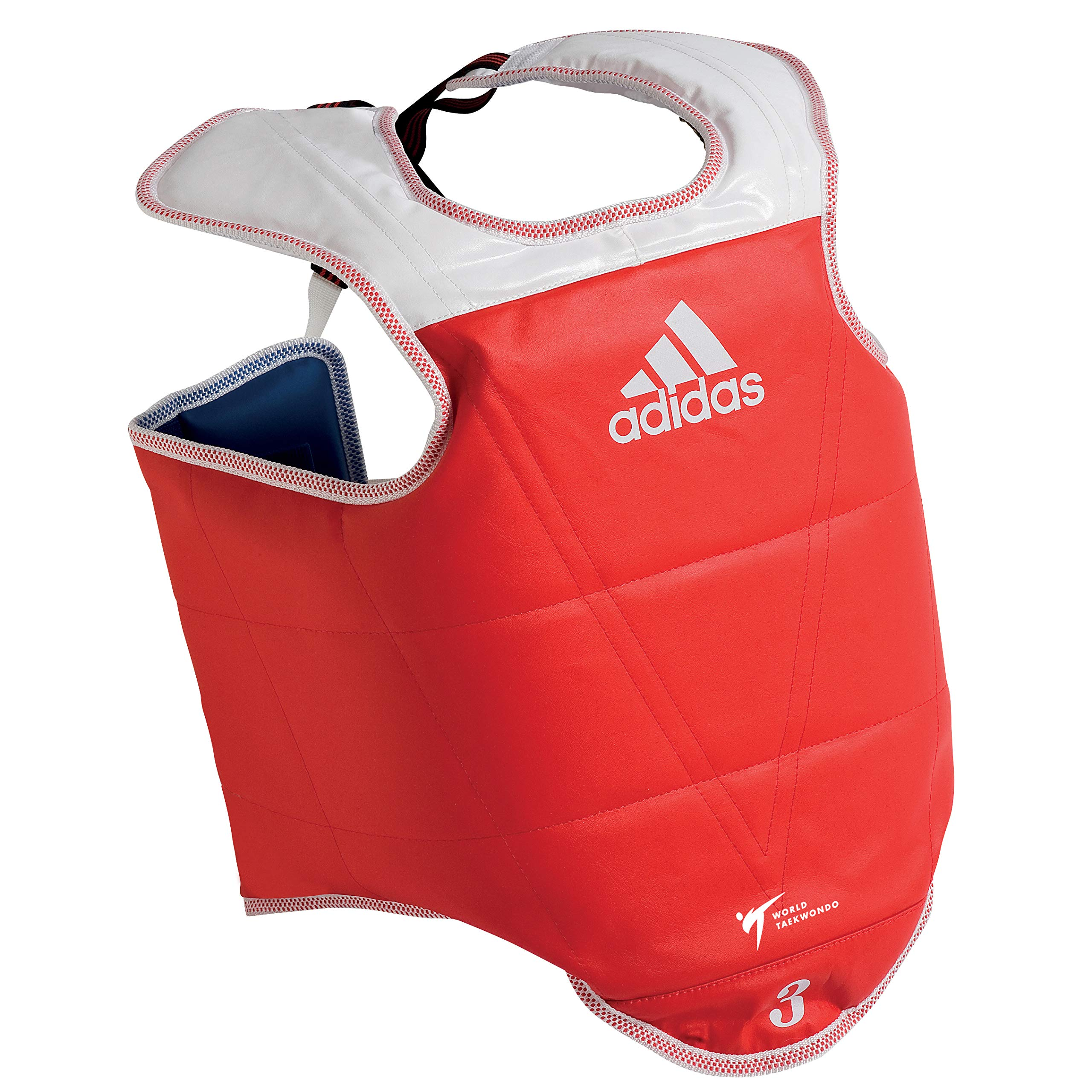 Adidas WTF TaeKwonDo Solid Reversible Chest Protector - Small by adidas