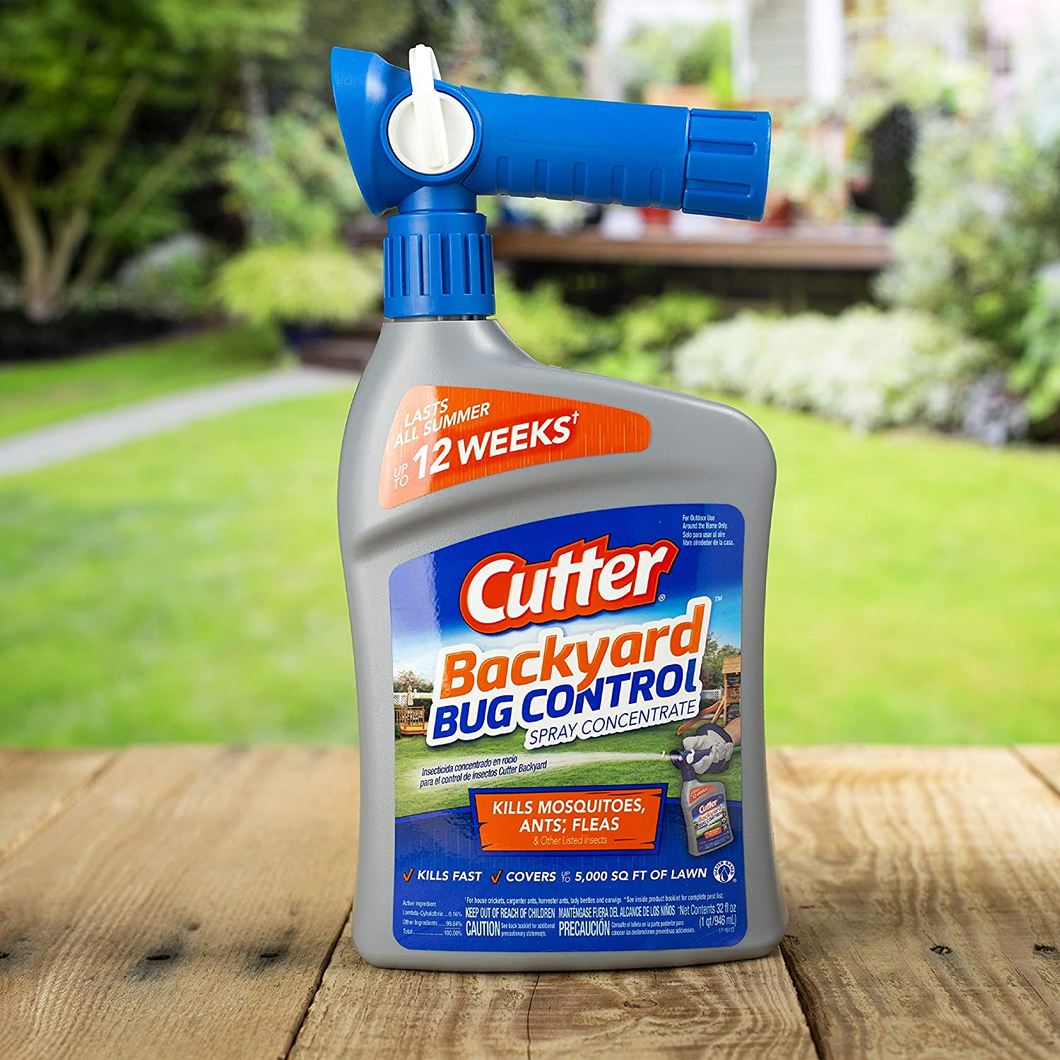 Amazon.com : Cutter Backyard Bug Control Spray Concentrate, 32-Ounce :  Insect Repelling Products : Garden & Outdoor - Amazon.com : Cutter Backyard Bug Control Spray Concentrate, 32-Ounce