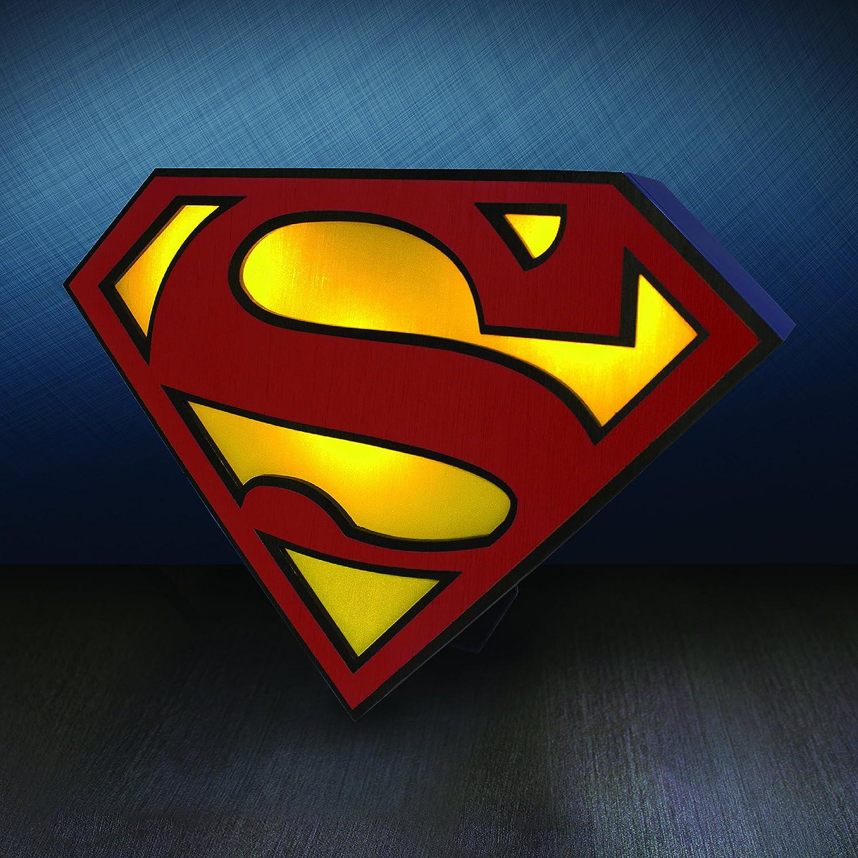 Dc Comics Superman Pp2899sm Logo Light Plastic Multi Colour