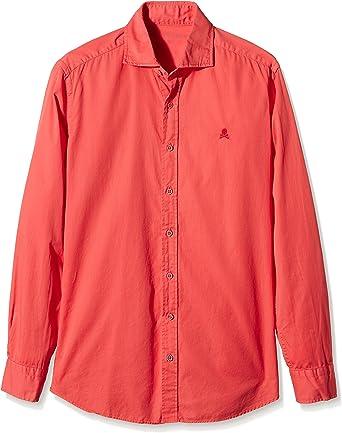 Scalpers Sport KONIKA PPT Shirt 06 Camisa, Coral, 38 para Hombre: Amazon.es: Ropa y accesorios