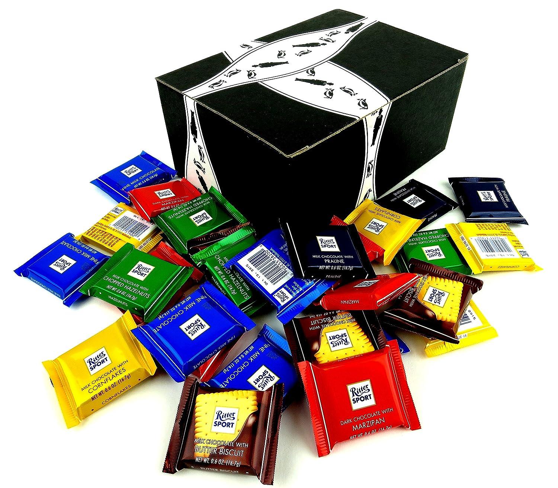 Amazon.com : Ritter Sport Assorted Mini Chocolate Squares, 1 lb ...