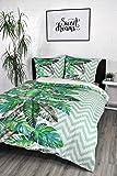 gemseven tropische pflanzen kissenbezug blatt regenwald kissenbez ge leinen kissenbezug stuhl. Black Bedroom Furniture Sets. Home Design Ideas