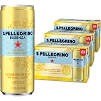 Deals on 24-Pk S. Pellegrino Essenza Lemon Flavored Mineral Water 11.2-Oz