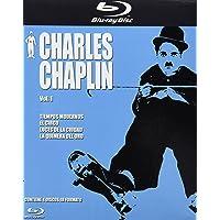 Charles Chaplin, 4 Discos [Blu-ray]