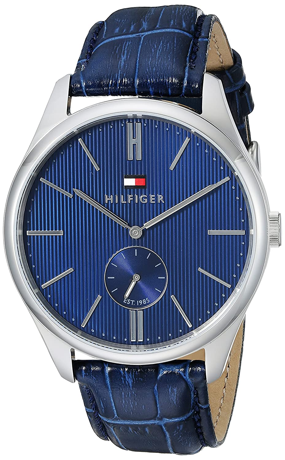 Tommy Hilfiger Men s 1791169 Analog Display Quartz Blue Watch
