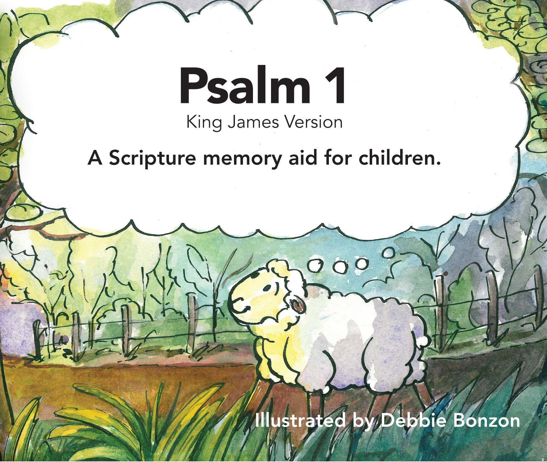 """""""Psalm 1"""" A Scripture Memory Aid ebook"""