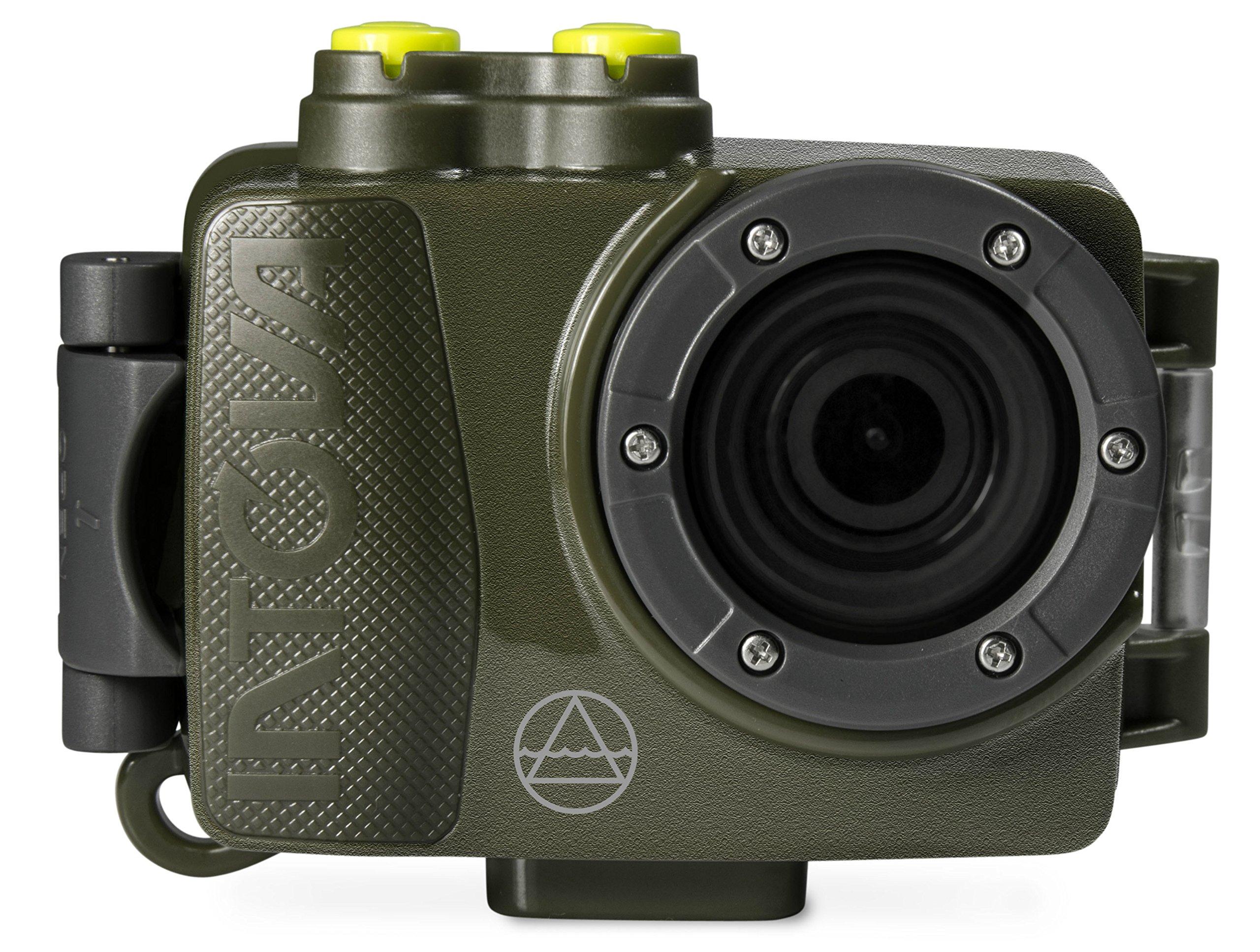 Intova DUB Waterproof Hi-Res 8MP/1080p Photo and Video Action Camera, Green by Intova