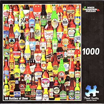 99 Bottles of Beer 1000 Piece Puzzle: Toys & Games