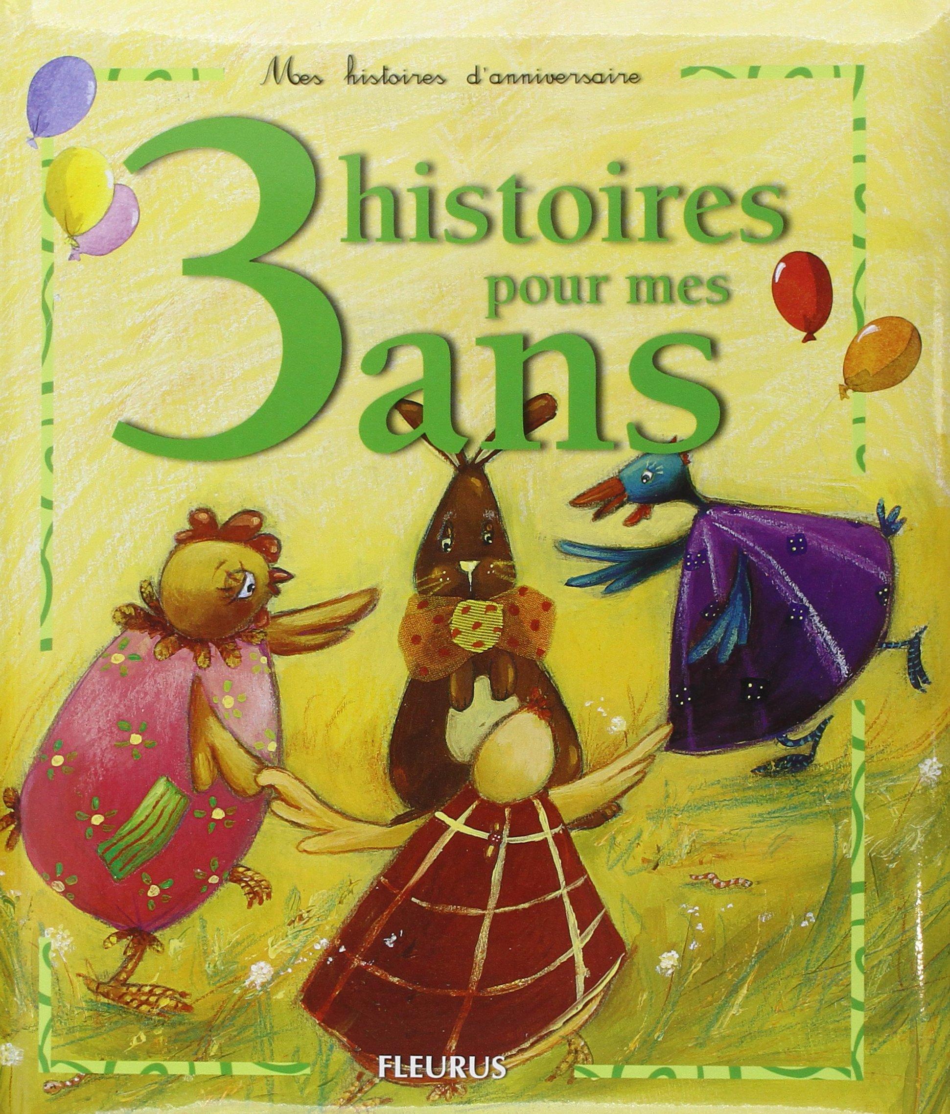Amazon Fr 3 Histoires Pour Mes 3 Ans 1cd Audio Sophie Maraval