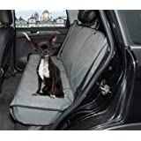 ZQ Waterproof Dog Bench Seat Cover Pet Hammock Car Seat Protector