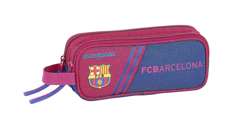 FC Barcelona Corporativa Oficial Estuche Escolar 210x60x80mm: Amazon.es: Oficina y papelería