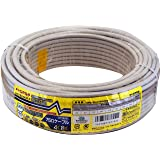 マスプロ電工 家庭用75Ω4Cケーブル 灰色 30m S4CFB30M(H)-P
