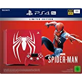 PlayStation 4 Pro - Konsole (1TB)  Limited Edition Marvel's Spider-Man Bundle inkl. 1 DualShock 4 Controller, rot