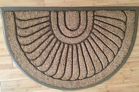 """Sunburst Coir Brush Doormat EXTRA LARGE  36/"""" x 72/"""""""