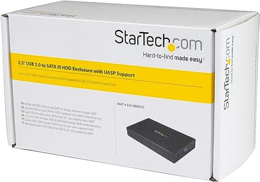 StarTech.com S3510BMU33 - Caja USB 3.0 SuperSpeed para Disco Duro ...