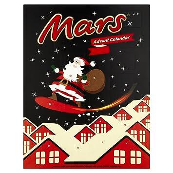 mars advent calendar 111g amazon com grocery gourmet food