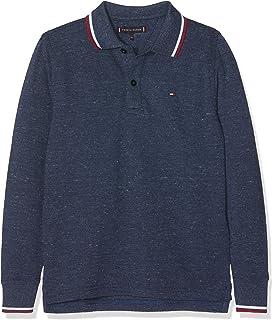 Tommy Hilfiger Jungen Poloshirt Essential Melange Polo L//S
